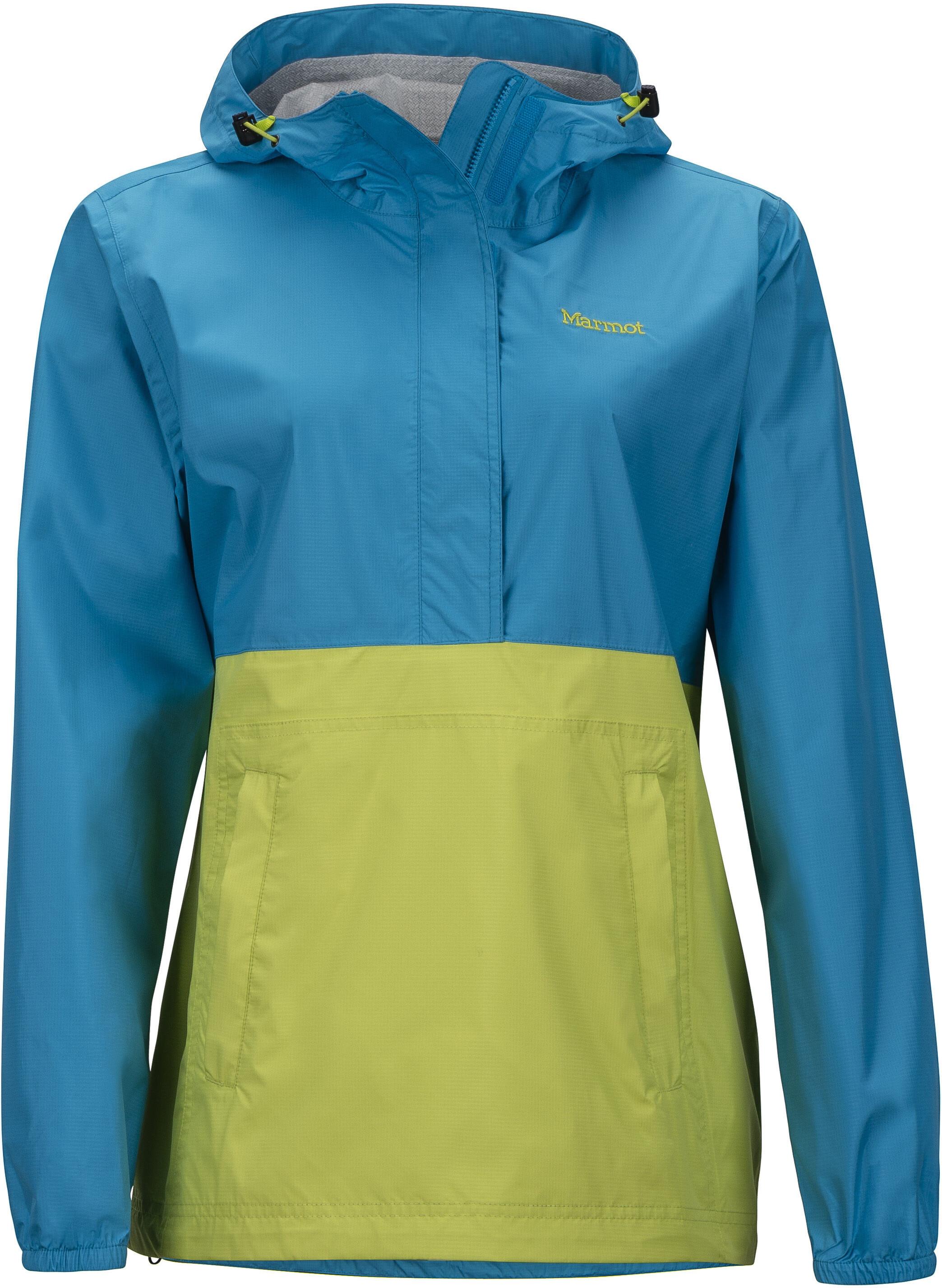 Marmot Women S Alexie Jacket: Marmot PreCip Jacket Women Yellow/blue At Addnature.co.uk